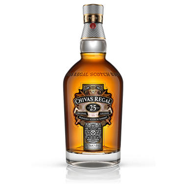 Chivas Regal 25 Year Old Blended Scotch Whisky (750 ml)