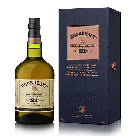 Redbreast Whiskey Ireland 21 Year Old (750 ml)