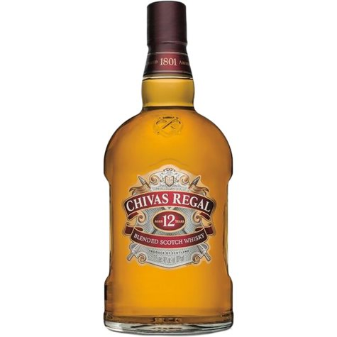Chivas Regal 12-Year-Old Blended Scotch Whisky (1.75 L)