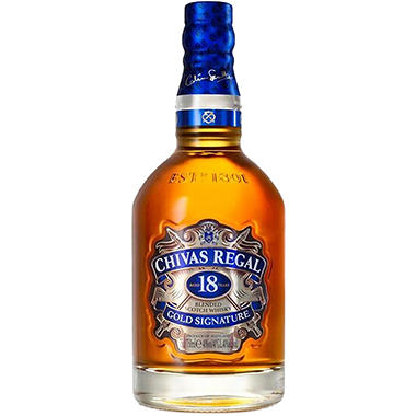 Chivas Regal 18-Year-Old Scotch Whisky (750 ml)