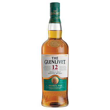 The Glenlivet 12 Years of Age Scotch Whisky (750 ml)