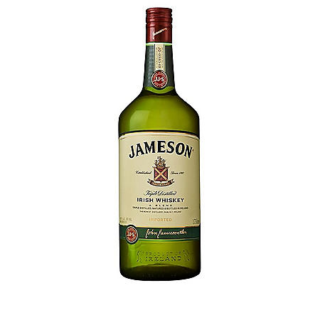 Jameson Irish Whiskey (1.75 L)