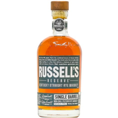 Wild Turkey Russell's Reserve Single Barrel Bourbon (750 ml)