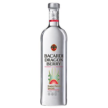 +BACARDI RUM DRAGON BERRY 750ML