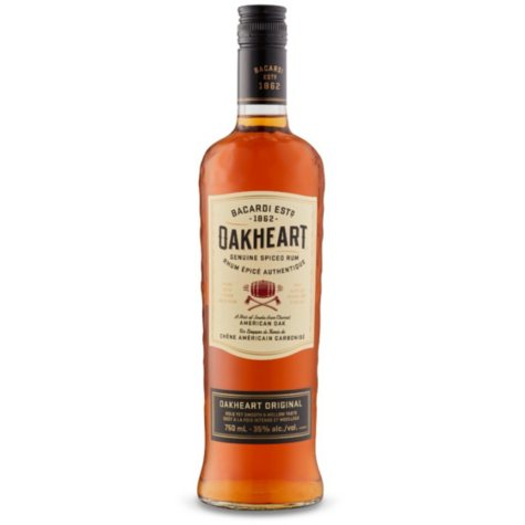 Bacardi Rum Oakheart (750 ml)