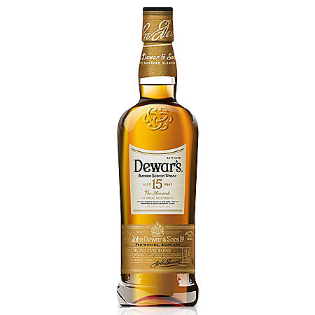 Dewar's 15 Year Old Blended Scotch (750 ml)