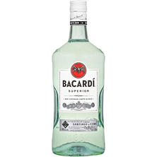 Barcardi Rum Light (1.75 L)
