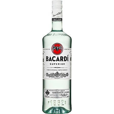 Bacardi Superior White Rum (1 L)
