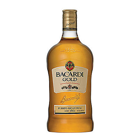 Bacardi Gold Rum (1.75 L)