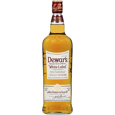 Dewar's White Label Blended Scotch Whisky (1 L)