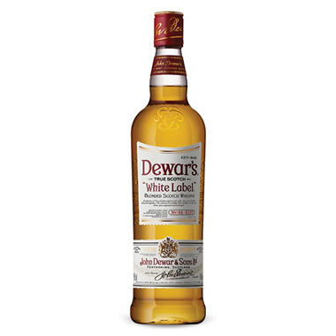 Dewar's White Label Blended Scotch Whisky (750 ml)