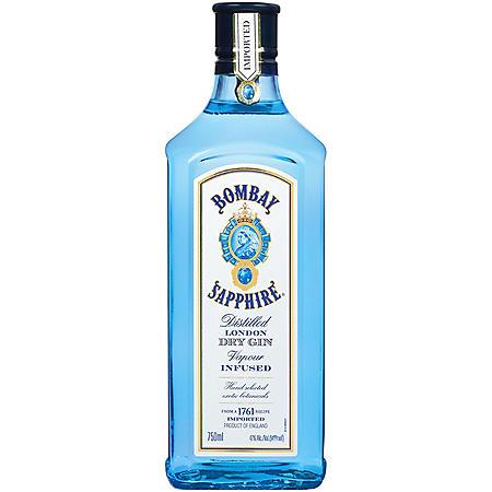 Bombay Sapphire Gin (750 ml)