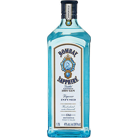 Bombay Sapphire Dry Gin (1.75 L)