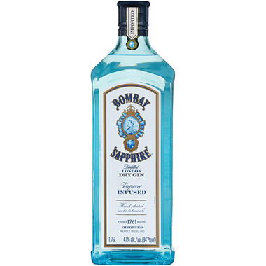 Bombay Sapphire Dry Gin 1 75 L Sam S Club