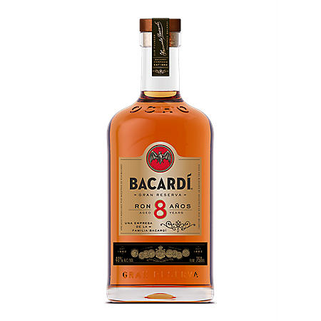 Bacardi 8-Year Reserve Rum (750 mL)