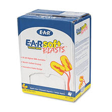 3M - E?A?Rsoft Blasts Earplugs, Corded, Foam, Yellow Neon -  200 Pairs
