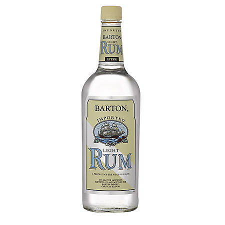 Barton Light Rum (1 L)