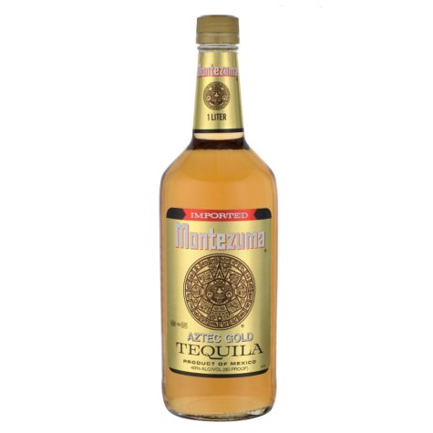 Montezuma Gold Tequila 1 Liter