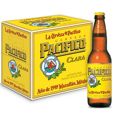 PACIFICO 12 / 12 OZ BOTTLES