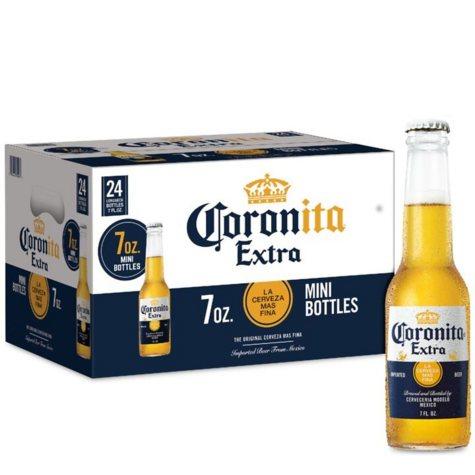 Coronita Extra (7 fl. oz. bottle, 24 pk.)