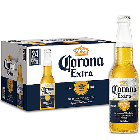 Corona Extra Mexican Import Beer (12 fl. oz. bottle, 24 pk.)