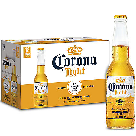 Corona Light (12 oz. bottles, 18 pk.)