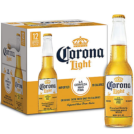 Corona Light Mexican Import Beer (12 fl. oz. bottle, 12 pk.)