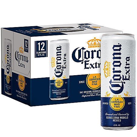 Corona Extra Mexican Import Beer  (12 fl. oz. can, 12 pk.)