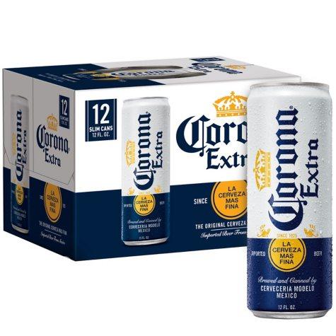 Corona Extra (12 fl. oz. can, 12 pk.)