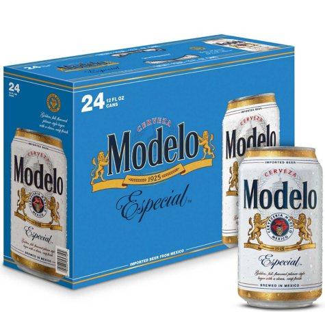 Modelo Especial Beer (12 fl. oz. can, 24 pk.)