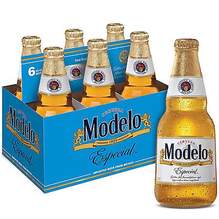 Modelo Especial Mexican Lager Beer (12 fl. oz. bottle, 6 pk.)