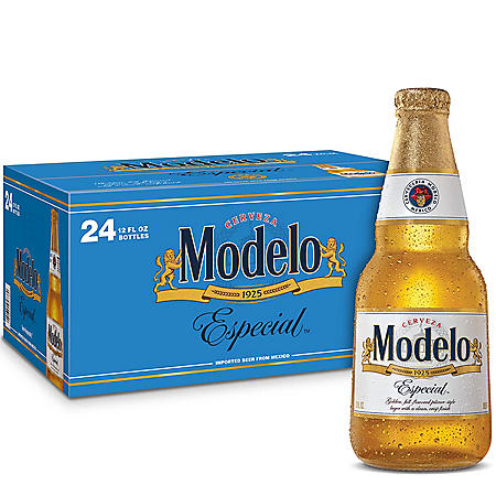 Modelo Especial Mexican Import Beer (12 fl. oz. bottle, 24 pk.)