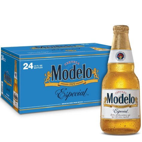 Modelo Especial Beer (12 fl. oz. bottles, 24 pk.)