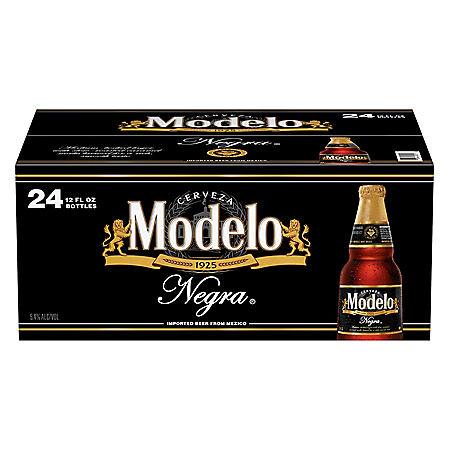 Modelo Negra Mexican Amber Lager Beer (12 fl. oz. bottle, 24 pk.)