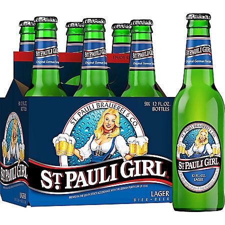 ST PAULI GIRL 6 / 12 OZ BOTTLES
