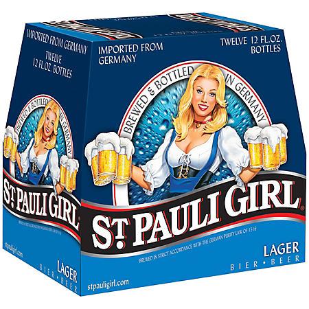 ST PAULI GIRL 12 / 12 OZ BOTTLES