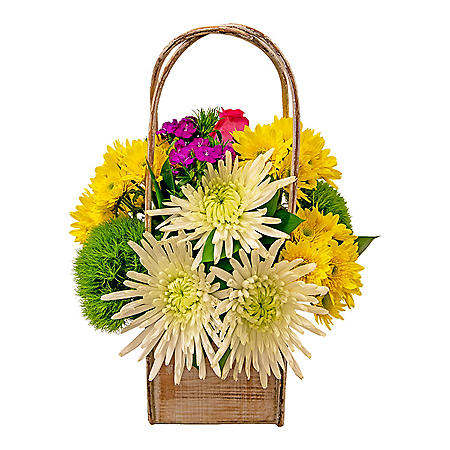 Large Arrangement with Vase