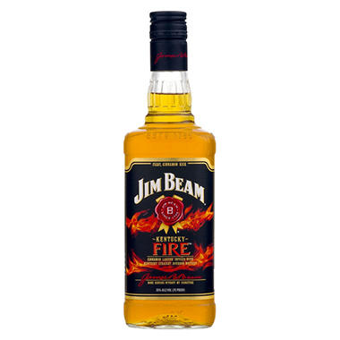 Jim Beam Kentucky Fire Bourbon Whiskey (750 ml)