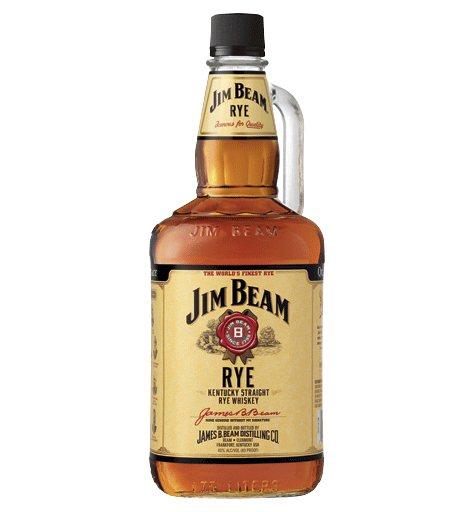 Jim Beam Rye Whiskey (1.75 L)