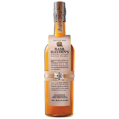 Basil Hayden's Kentucky Straight Bourbon Whiskey (750 ml)