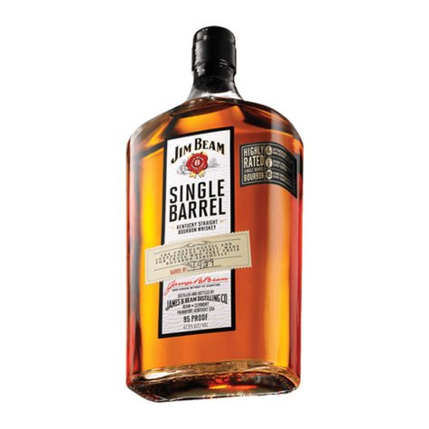 Jim Beam Single Barrel Bourbon Whiskey (750 ml)