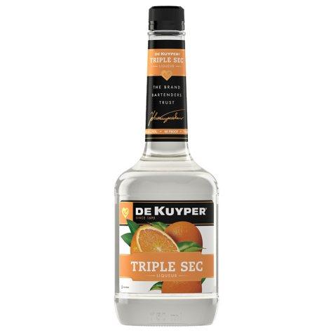 DeKuyper Triple Sec Liqueur (750 ml)