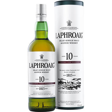Laphroaig 10 Year Old Scotch Whisky (750 ml)