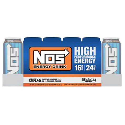 NOS High Performance Energy Drink (16 oz., 24 pk.)