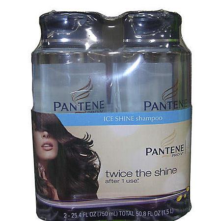 Pantene Ice Shine Shampoo - 2/25.4oz