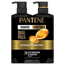 Pantene Expert Pro-V Intense Hydration Shampoo & Conditioner (16.9 fl. oz., 2 pk.)
