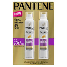 Pantene Pro-V Sheer Volume Foam Conditioner (6 oz., 2 pk.)