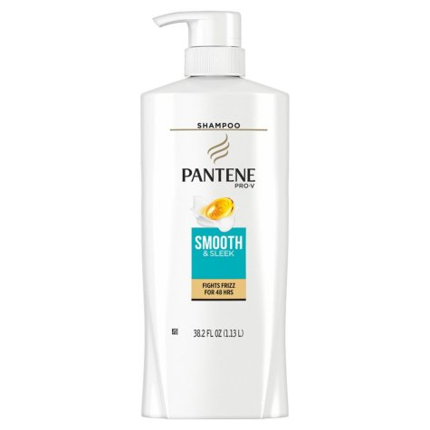 Pantene Pro-V Smooth & Sleek Shampoo (38.2 fl. oz.)