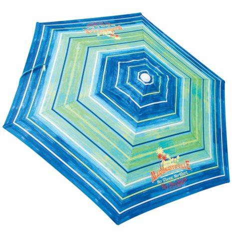 Margaritaville 7-Ft. Beach Umbrella with Integrated Sand Anchor