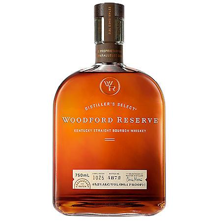 Woodford Reserve Kentucky Straight Bourbon Whiskey (750 ml)